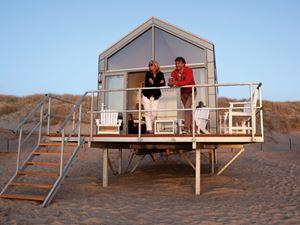 Strandhaus am meer  Strandhäuser in Holland