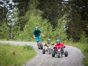 Mountainkart und Monsterroller im Bikepark Brandnertal