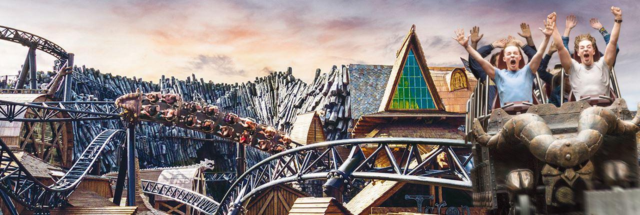 Phantasialand Park Karte.Phantasialand Ferienparks In Der Nahe